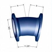 Отвод фланцевый 11° (FFK 11°)