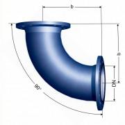 Отвод фланцевый 90° (Q)