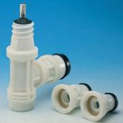 Вентиль с комбинацией насадок ISO  (3151, 3150, 6221F)