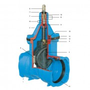 Задвижка E2 клиновая раструбная (4500E2)